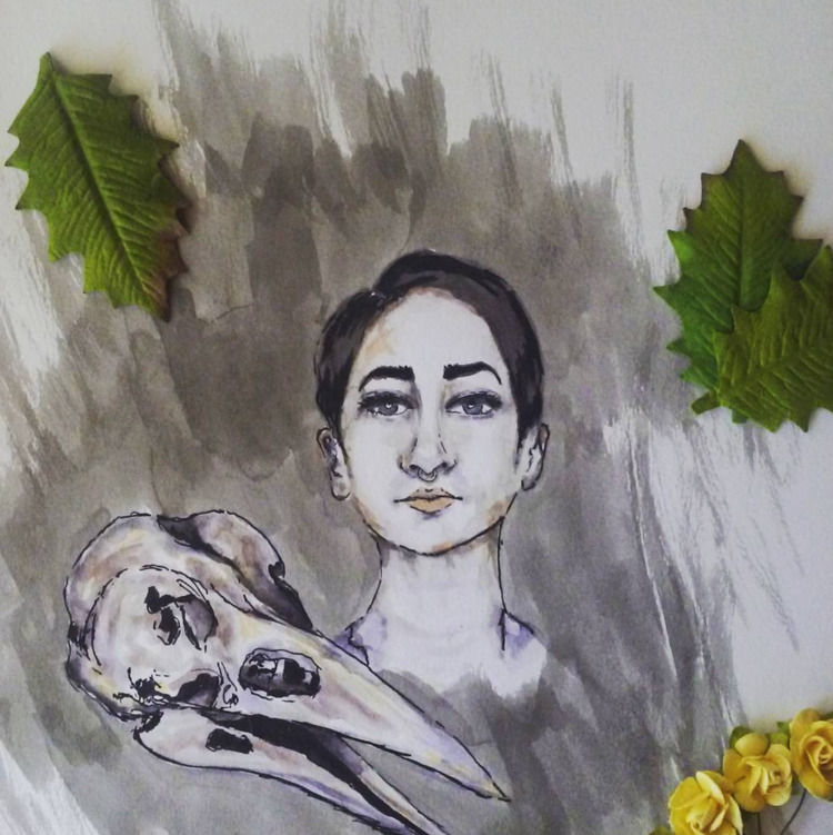 love drawing faces. practice sh - katrina_stautihar | ello