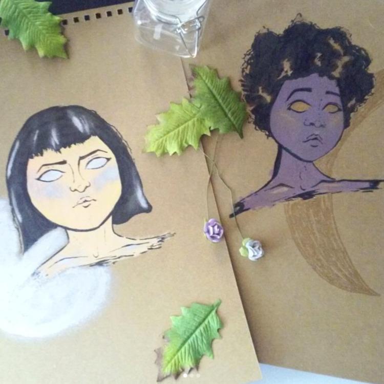 gasp! portraits! witchy type la - katrina_stautihar | ello