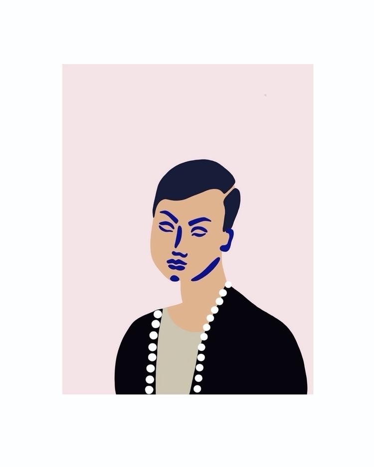 Portraits strangers 12 - 'Rich  - jyxchen | ello