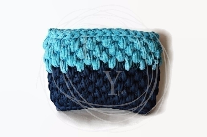greek blue crochet bag . kind c - stekiapantou | ello