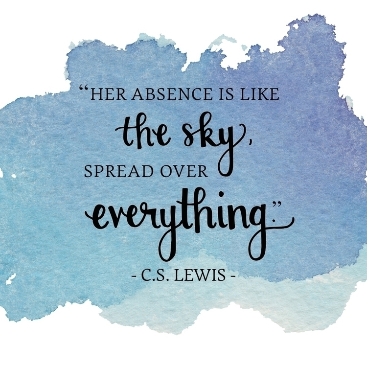 cslewis, grief, typography, lettering - profoundmuse | ello