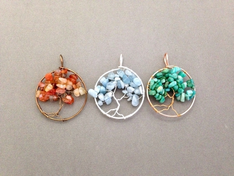 Tree life pendants wire colors  - soulluvshop | ello