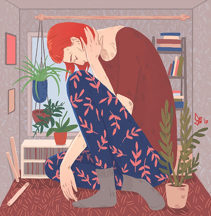 find place longer fit. 2017 - illustration - dariagolab | ello