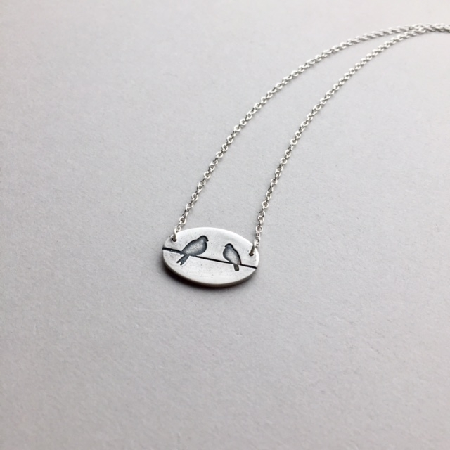 Lovebirds ~ simple, meaningful  - bitsofsilver | ello
