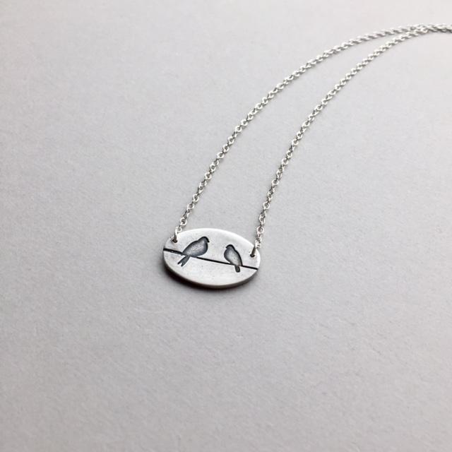 Lovebirds ~ simple, meaningful  - bitsofsilver | ello