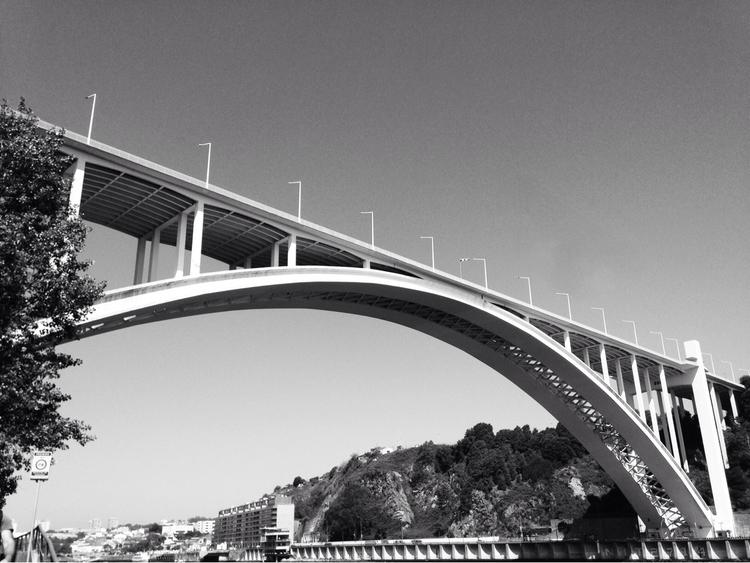 Arrabida bridge, OPO, Portugal - pmbmendonca | ello