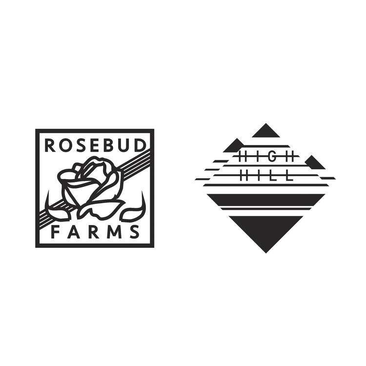 Rosebud High Hill Farms Logo De - jahnyawn | ello