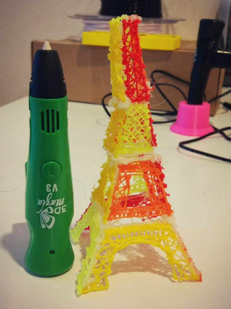 craft...:innocent - 3DDrawing, 3DFilament - filamojo | ello