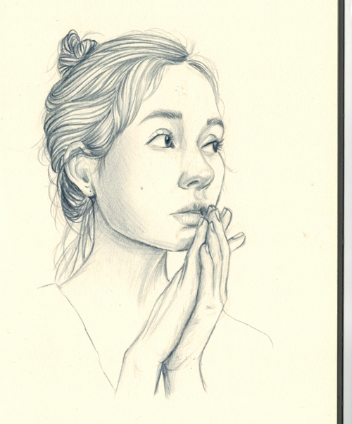 Mijuna - mondayface, drawing, sketch - j0eyg1rl | ello