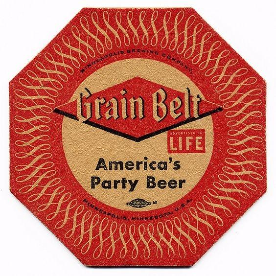 Grain Belt Beer. Minneapolis Br - p-e-a-c | ello
