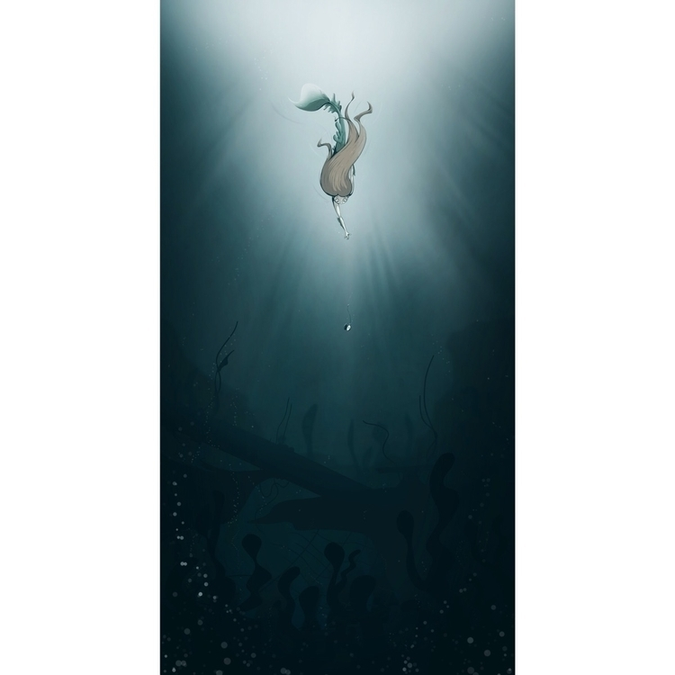 Depth Time- Late entry - mermay - breadcrumbs_ink | ello