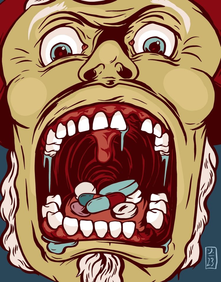 Drugs - illustration - thomcat23 | ello