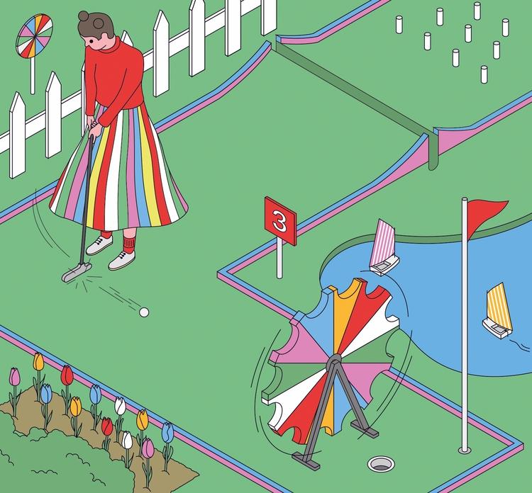 Sommary illustration Kostar mag - molonom | ello
