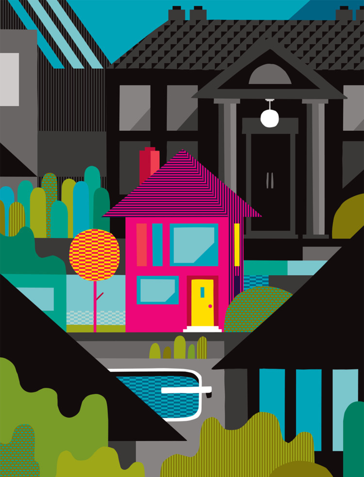 patterned real estate - illustration - ebencom | ello