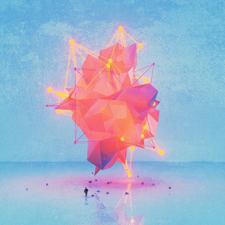 BORN - Cinema4D, C4D, 3D, Art, Illustration - polygonatic   ello