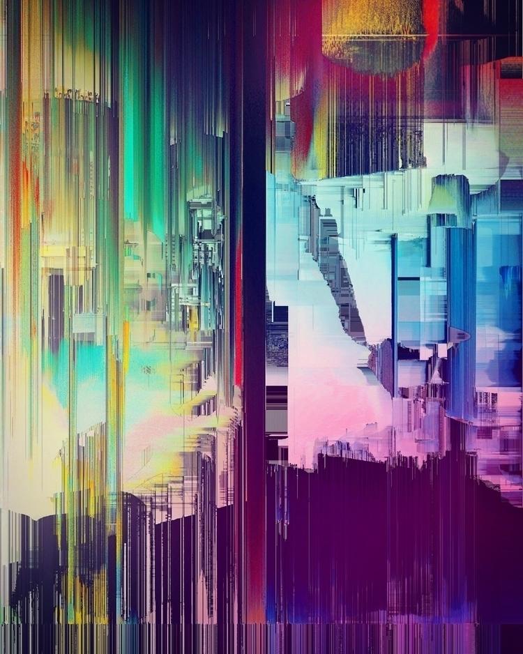 _Hyper density rainbows_ Spent  - cgwarex | ello