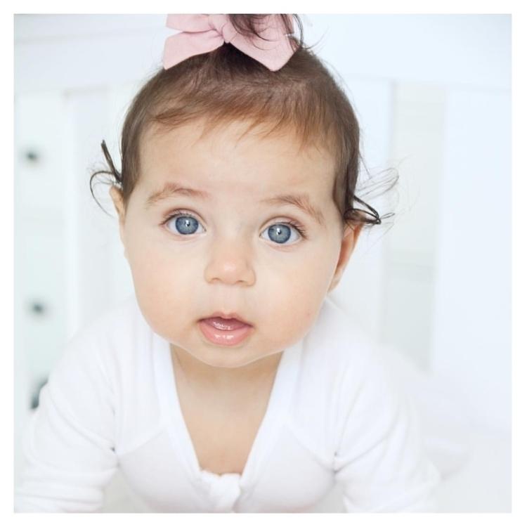 Livvie sweetest Bebe! eyes! ado - littlebeanorganics | ello