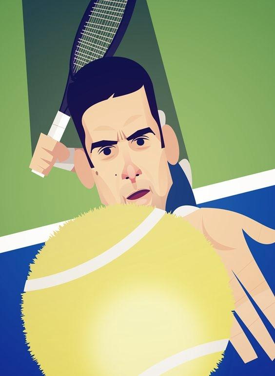 Novak Djokovic playing today Wi - fabimo | ello