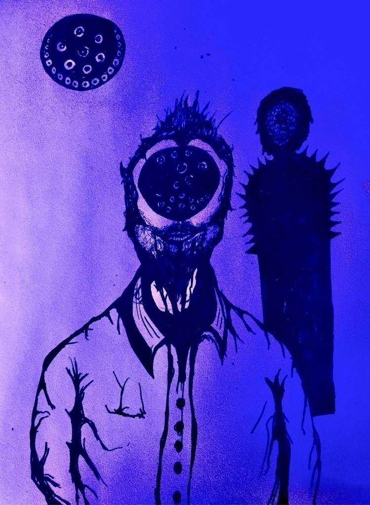 strange upheaval event lighted  - jupitercyclops | ello