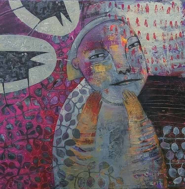 good news acrylic canvas 60x60  - jolitacc | ello