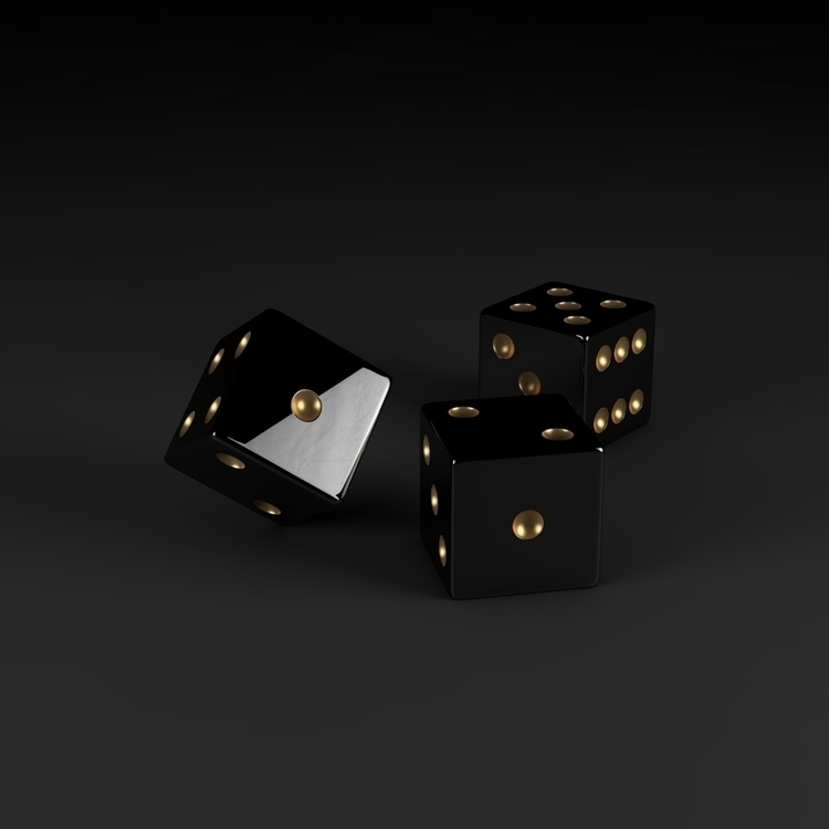 Roll dice - digitalart, abstract - nickjaykdesign | ello
