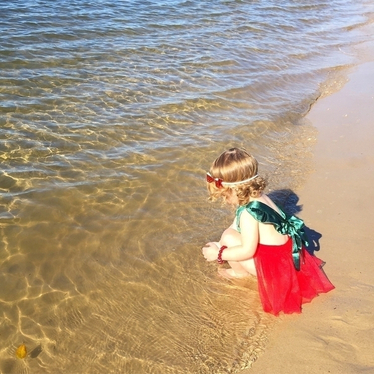 waves hit feet, sand seat. . Mi - armywifeandmummylife | ello