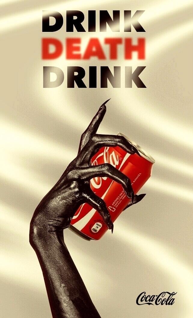 poster, art, Coca-cola, criminal - nielsmaillart | ello