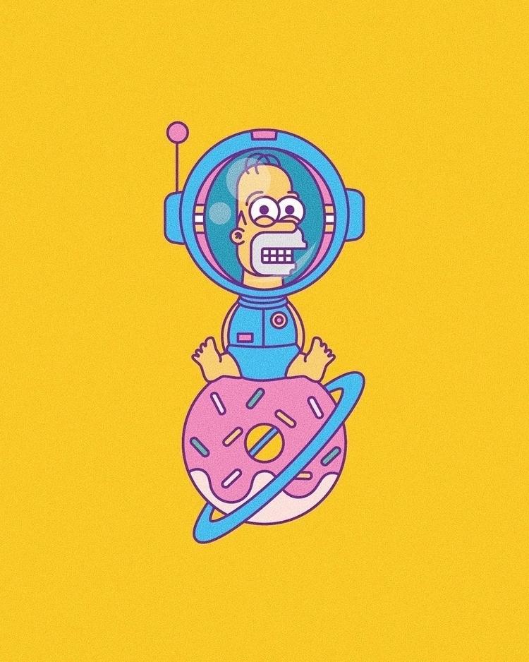 Stranded Space - vectordesign, popculture - millusti | ello