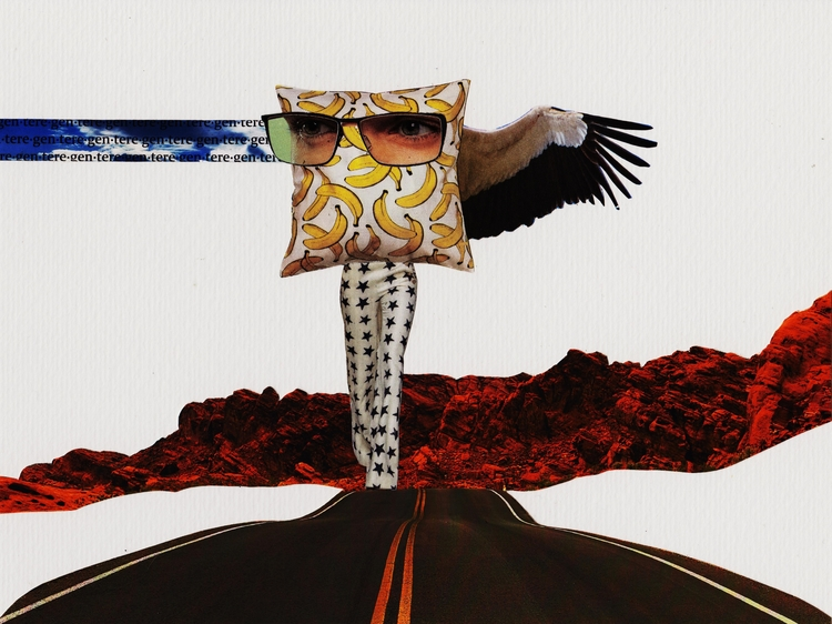 Regente - Collage, Analogue, Colagem - marianabastoscollage | ello