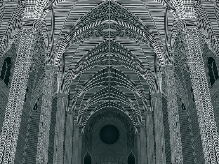 interior, architecture, gothic - lessmessyes | ello