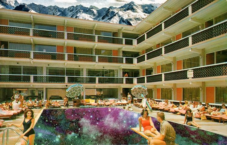 Swimming galaxy - Art, digitalart - darlingdesign   ello