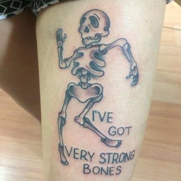 lyrics - skeleton, dancing, tattoo - levigreenacres | ello