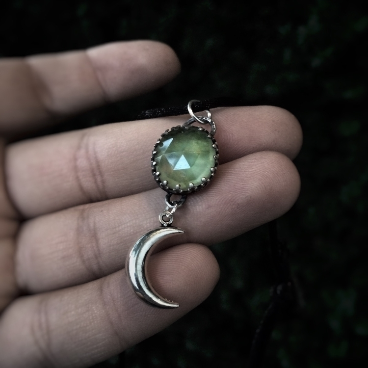 listed Beautiful Prehnite penda - project_om_jewels | ello