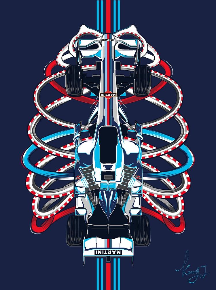 F1 Martini - DigitalDecadeCyberia - kzengjiang | ello