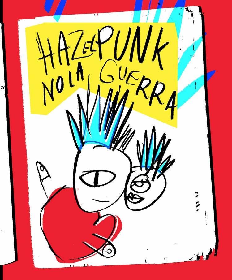 Ser Punkcifista art - arte, furgoner - furgoner   ello