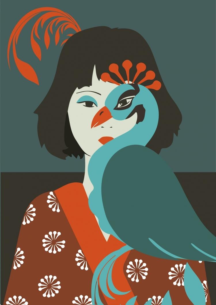 Camila Brazilian influenced art - benim_jbweb | ello