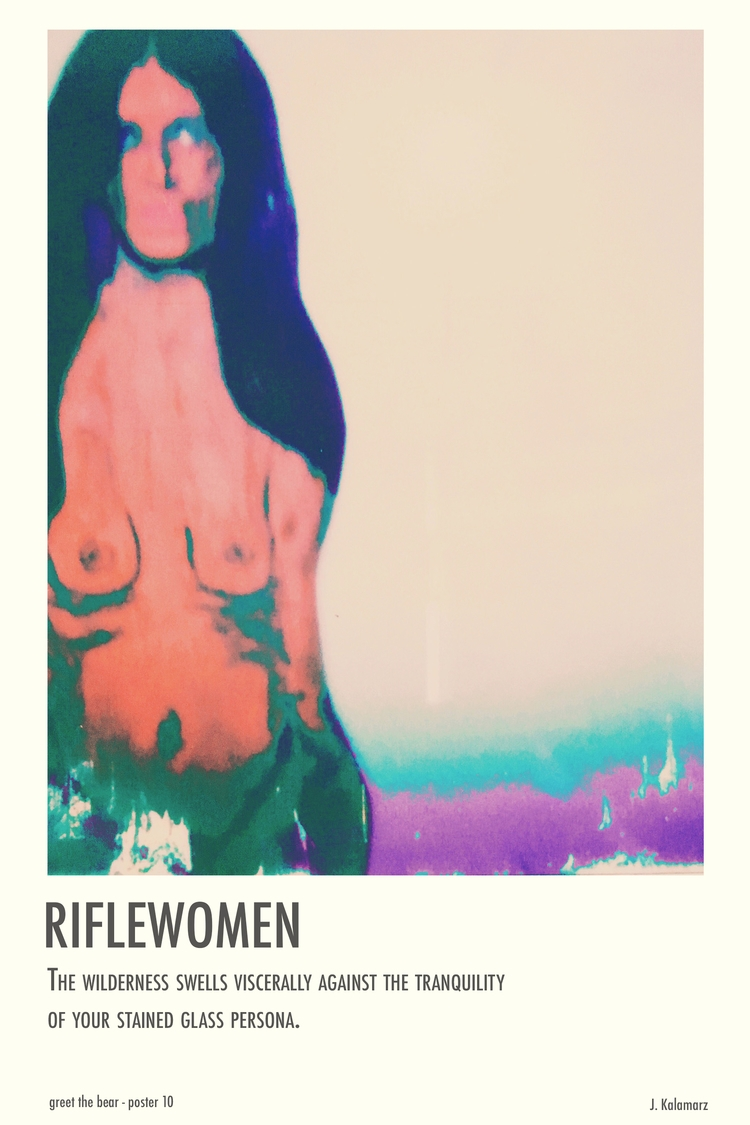 art, design, portrait, nude, poster - jkalamarz | ello