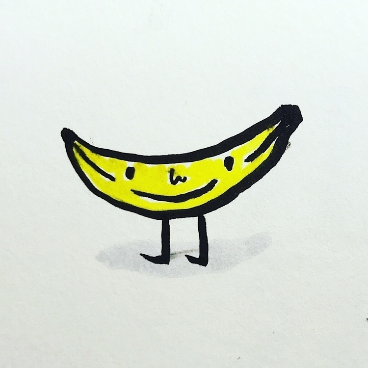 Daily Drawing Day - Banana Man  - wawawawick | ello