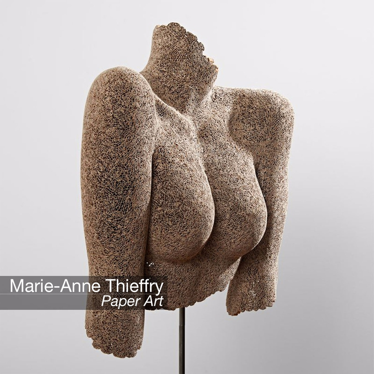 Discover Paper Art Marie-Anne T - velvetandpurple   ello