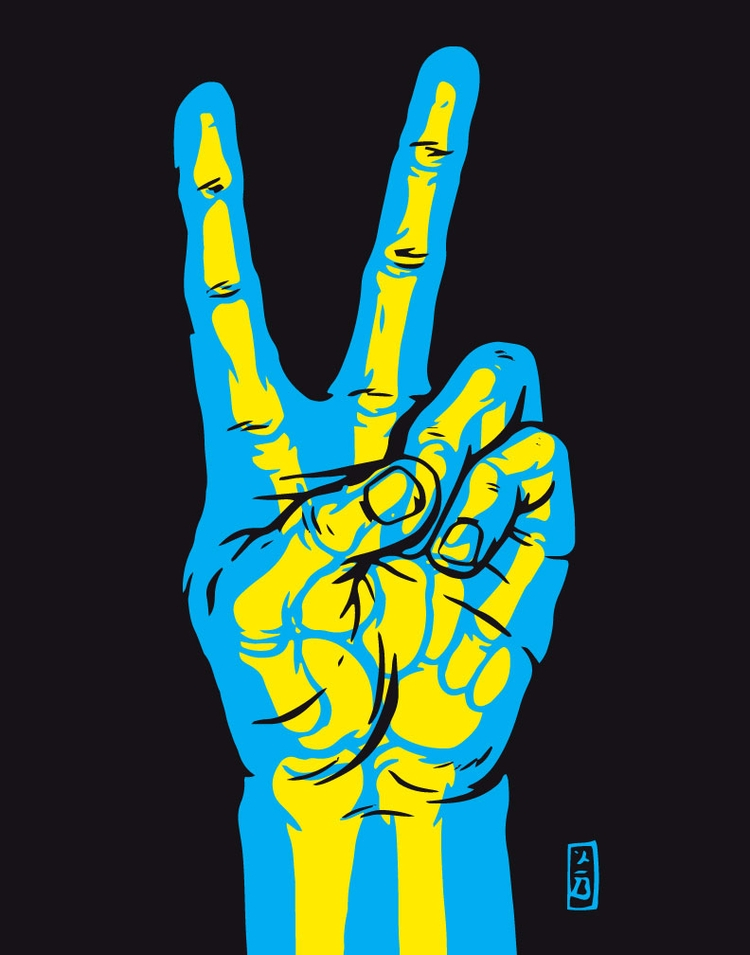 Transparent Peace - illustration - thomcat23 | ello