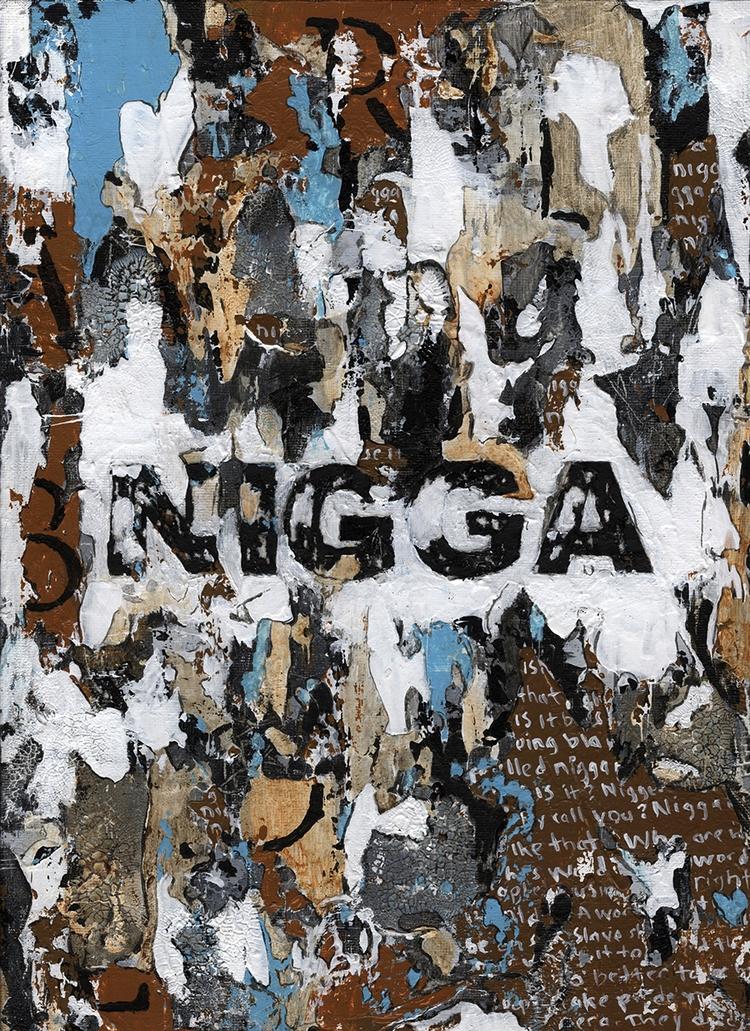 Title: Nigga Size: 9″X12″ Mediu - damionismyname | ello