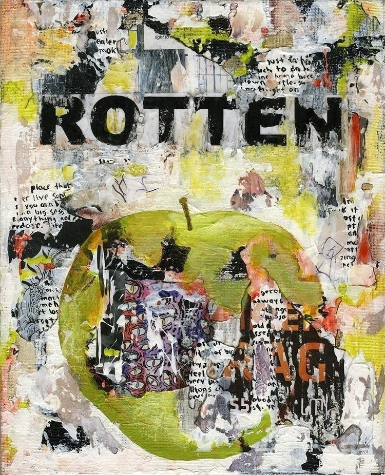 Title: Rotten 5 Size: 8″X10″ Me - damionismyname | ello