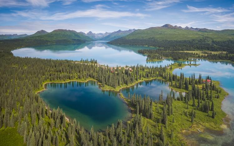 *Chelatna Lake Alaska Aerial Pa - tobyharriman | ello