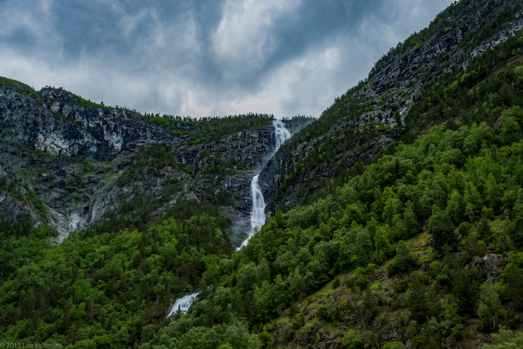 Waterfall, Sognefjord, halfway  - everythingends | ello