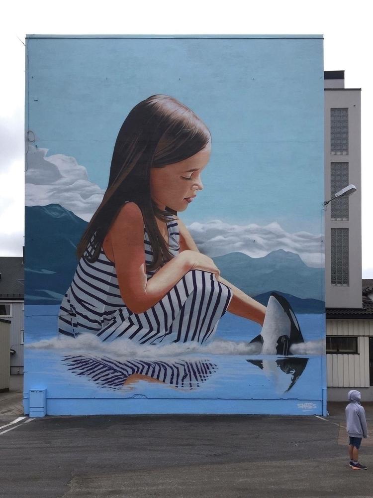 Artist: Smates Location: Sandef - streetartunitedstates | ello