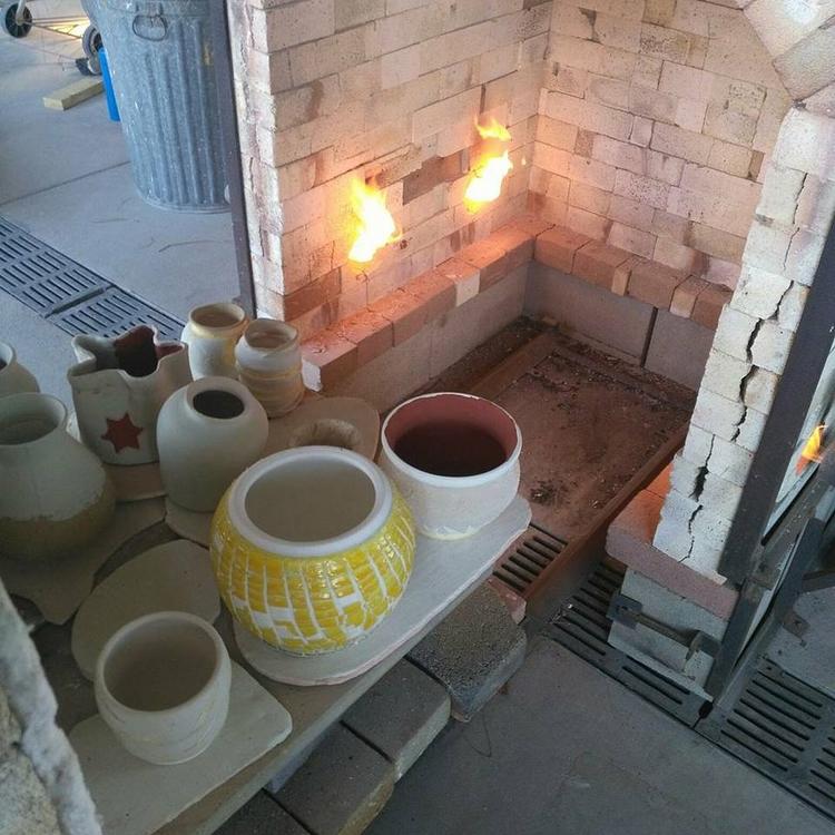 Raku Firing - ceramics, kiln, clay - unorthodoxeye | ello