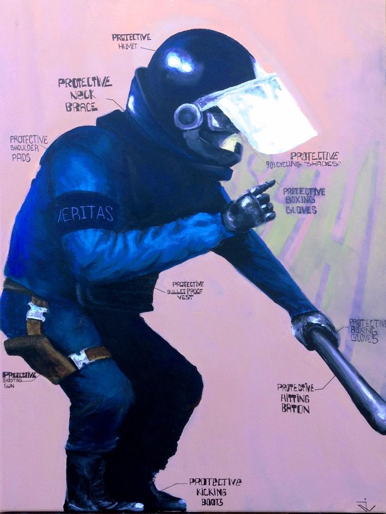 Protective Veritas - acrylic ca - juliogvvc | ello