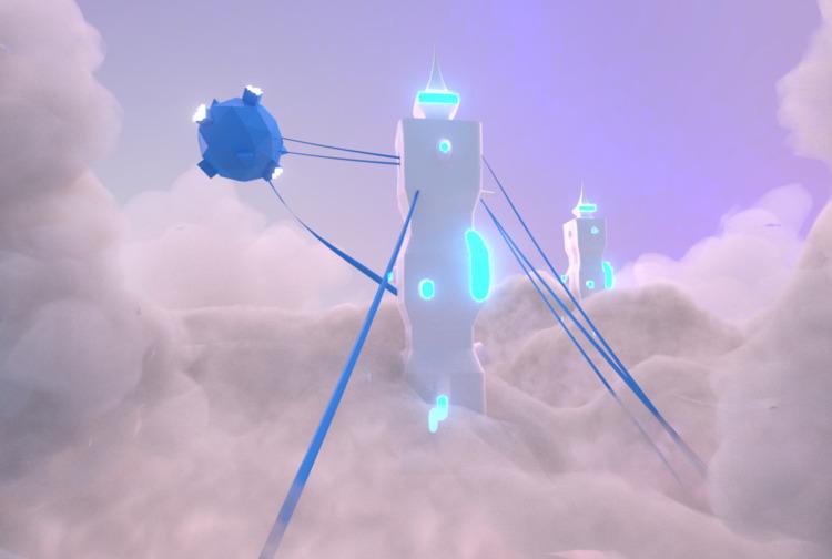clouds - 3d, 3dart, art, ello3d - solutuminvictus | ello