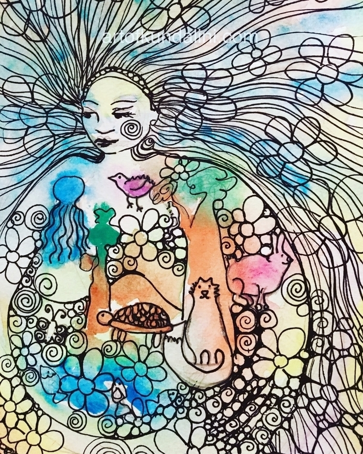 Mother Earth collaboration Amor - arnabaartz | ello