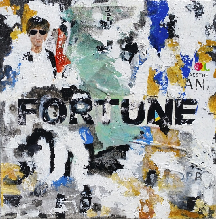 Title: Fortune Size: 12″X12″ Me - damionismyname | ello